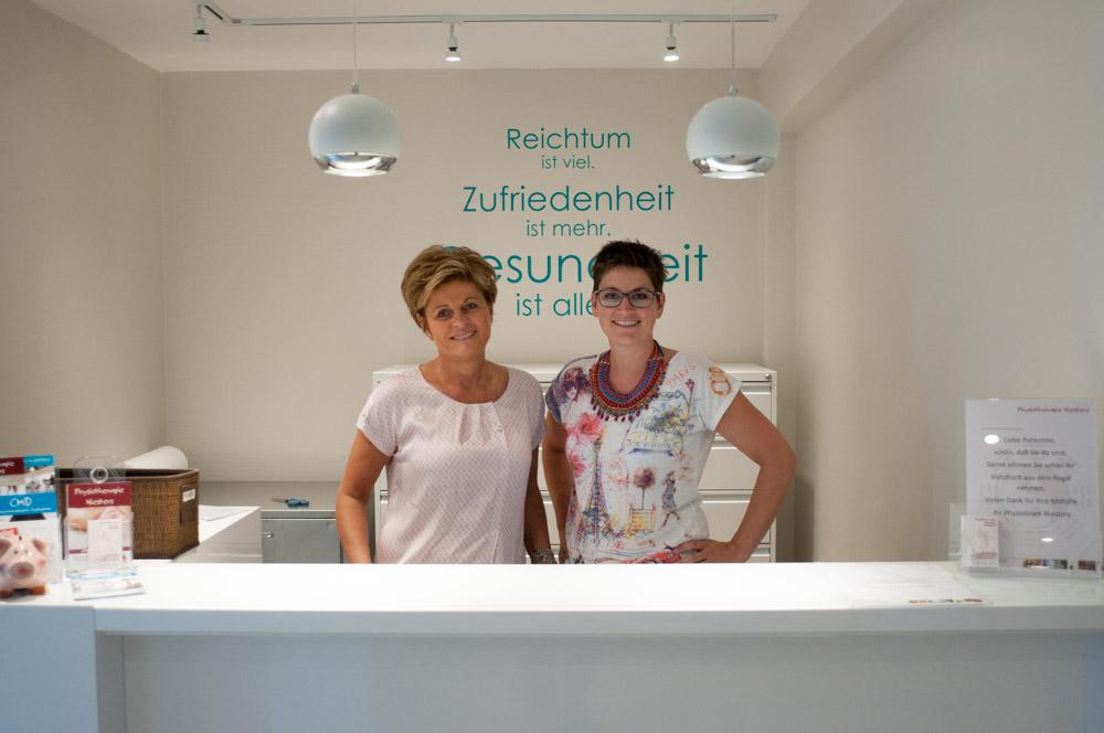 Gesundheitszentrum Niesters – Physiotherapie – Anmeldung